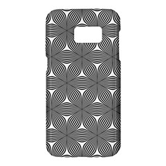 Seamless Weave Ribbon Hexagonal Samsung Galaxy S7 Hardshell Case