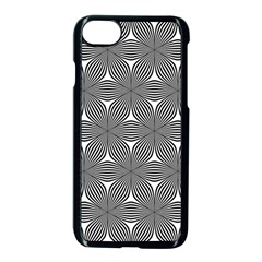 Seamless Weave Ribbon Hexagonal Apple Iphone 7 Seamless Case (black)