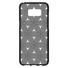 Seamless Weave Ribbon Hexagonal Samsung Galaxy S8 Plus Black Seamless Case