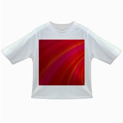 Abstract Red Background Fractal Infant/toddler T Shirts