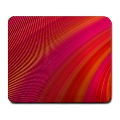 Abstract Red Background Fractal Large Mousepads