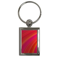 Abstract Red Background Fractal Key Chains (rectangle)
