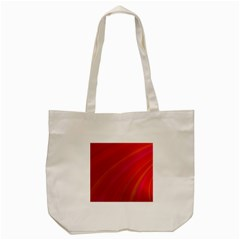 Abstract Red Background Fractal Tote Bag (cream)