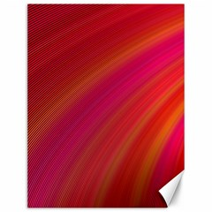 Abstract Red Background Fractal Canvas 12  X 16