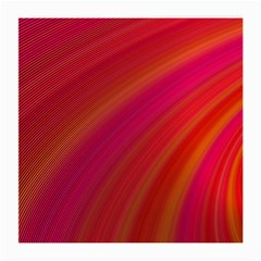 Abstract Red Background Fractal Medium Glasses Cloth (2 Side)