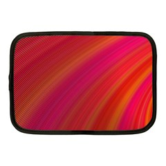 Abstract Red Background Fractal Netbook Case (medium)