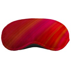 Abstract Red Background Fractal Sleeping Masks