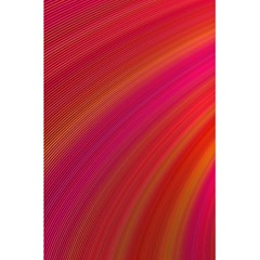 Abstract Red Background Fractal 5 5  X 8 5  Notebooks