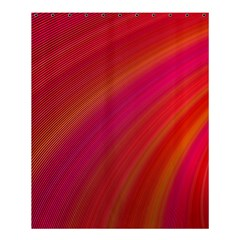 Abstract Red Background Fractal Shower Curtain 60  X 72  (medium)