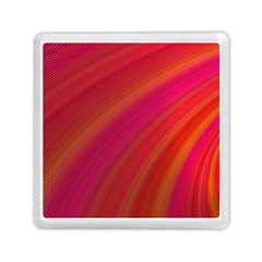 Abstract Red Background Fractal Memory Card Reader (square)