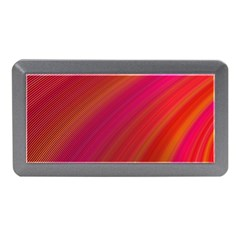 Abstract Red Background Fractal Memory Card Reader (mini)