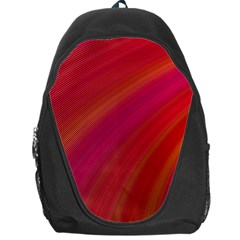 Abstract Red Background Fractal Backpack Bag