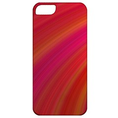 Abstract Red Background Fractal Apple Iphone 5 Classic Hardshell Case