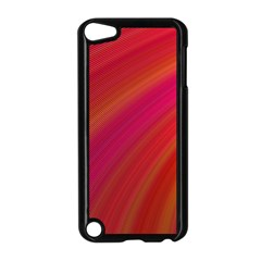 Abstract Red Background Fractal Apple Ipod Touch 5 Case (black) by Nexatart