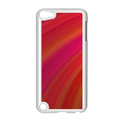 Abstract Red Background Fractal Apple Ipod Touch 5 Case (white)