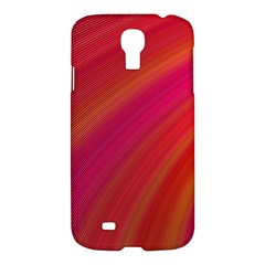 Abstract Red Background Fractal Samsung Galaxy S4 I9500/i9505 Hardshell Case