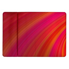 Abstract Red Background Fractal Samsung Galaxy Tab 10 1  P7500 Flip Case