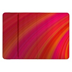 Abstract Red Background Fractal Samsung Galaxy Tab 8 9  P7300 Flip Case