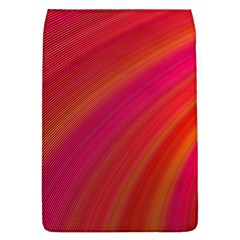 Abstract Red Background Fractal Flap Covers (l)