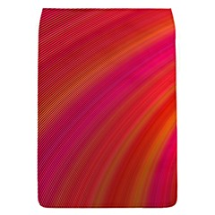 Abstract Red Background Fractal Flap Covers (s)