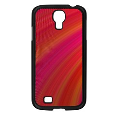 Abstract Red Background Fractal Samsung Galaxy S4 I9500/ I9505 Case (black)