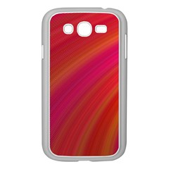 Abstract Red Background Fractal Samsung Galaxy Grand Duos I9082 Case (white)