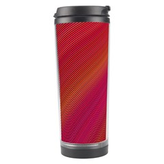 Abstract Red Background Fractal Travel Tumbler