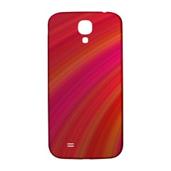 Abstract Red Background Fractal Samsung Galaxy S4 I9500/i9505  Hardshell Back Case