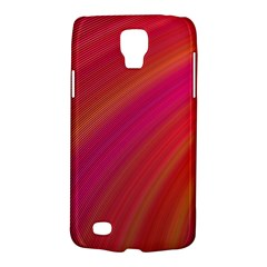 Abstract Red Background Fractal Galaxy S4 Active