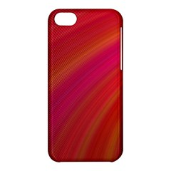 Abstract Red Background Fractal Apple Iphone 5c Hardshell Case