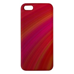 Abstract Red Background Fractal Iphone 5s/ Se Premium Hardshell Case