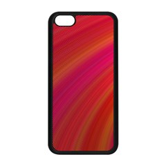 Abstract Red Background Fractal Apple Iphone 5c Seamless Case (black)