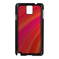 Abstract Red Background Fractal Samsung Galaxy Note 3 N9005 Case (black)