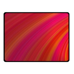 Abstract Red Background Fractal Double Sided Fleece Blanket (small)