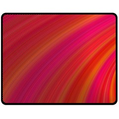 Abstract Red Background Fractal Double Sided Fleece Blanket (medium)