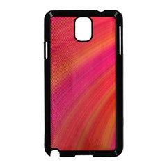 Abstract Red Background Fractal Samsung Galaxy Note 3 Neo Hardshell Case (black)