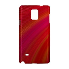 Abstract Red Background Fractal Samsung Galaxy Note 4 Hardshell Case
