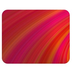 Abstract Red Background Fractal Double Sided Flano Blanket (medium)