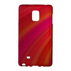 Abstract Red Background Fractal Galaxy Note Edge