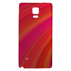 Abstract Red Background Fractal Galaxy Note 4 Back Case