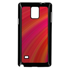 Abstract Red Background Fractal Samsung Galaxy Note 4 Case (black)