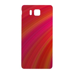 Abstract Red Background Fractal Samsung Galaxy Alpha Hardshell Back Case