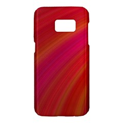 Abstract Red Background Fractal Samsung Galaxy S7 Hardshell Case