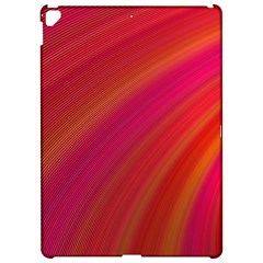 Abstract Red Background Fractal Apple Ipad Pro 12 9   Hardshell Case