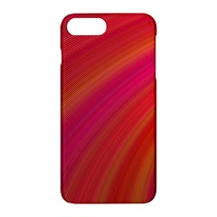 Abstract Red Background Fractal Apple Iphone 7 Plus Hardshell Case