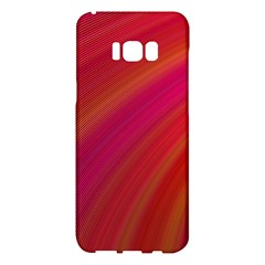 Abstract Red Background Fractal Samsung Galaxy S8 Plus Hardshell Case
