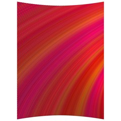 Abstract Red Background Fractal Back Support Cushion