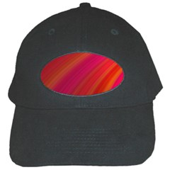 Abstract Red Background Fractal Black Cap