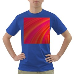 Abstract Red Background Fractal Dark T Shirt