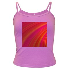 Abstract Red Background Fractal Dark Spaghetti Tank